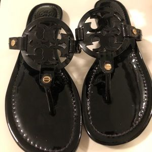 Tory Burch Women Miller Black Sandal